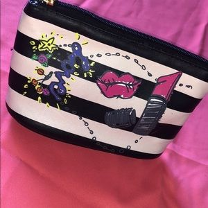 Betsy Johnson small makeup bag